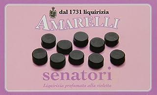 Amarelli Regaliz - Senatori - Caramelos De Regaliz Con Violeta - 100 gr