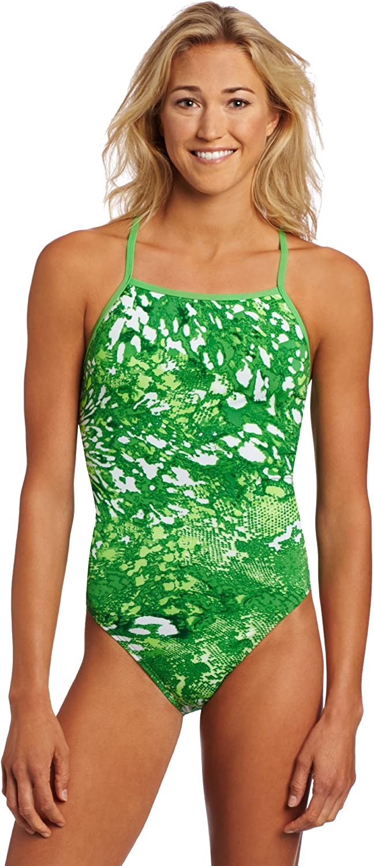 Speedo Women's Max 45% OFF Snake Bit supreme Splash Back Endurance Swimsuit