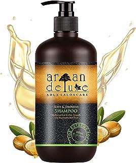 Champú reparo & cuidado de Argan Deluxe con calidad de peluquería 300 ml - combate puntas abiertas y cabellos rotos