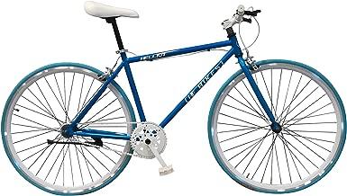 Bicicleta urbana Helliot Bikes Fixie Soho H11, unisex adulto, naranja, talla única