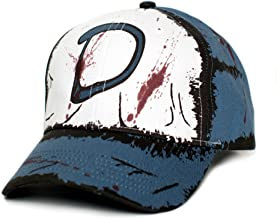 Clementine's Custom Blood Stain & Dirt Dead Zombies Cap Hat Unisex Slate