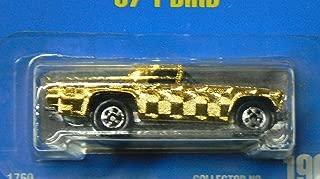 Hot Wheels 57 T-Bird 190 Gleam Team Blue Card 1991