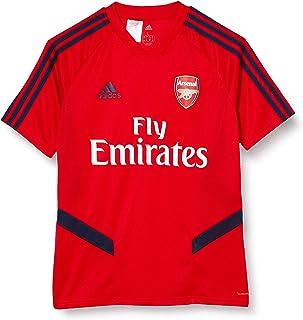adidas 2019-2020 Arsenal Training Football Soccer T-Shirt Trikot Red - Kids