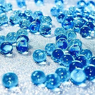 Hicarer 10000 Pieces Vase Filler Beads Gems Water Gel Beads Growing Crystal Pearls Wedding Centerpiece Decoration (Blue)