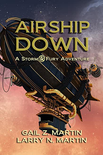 Airship Down: A Storm and Fury Adventure (English Edition)