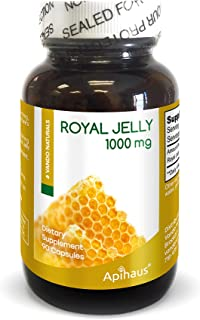 apihaus Royal Jelly, 1000 mg, 90 Count
