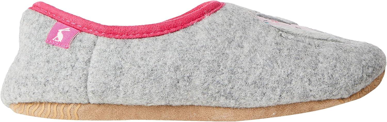 Joules Slipper Gift Set Elephant Grey Polyester Child Slippers