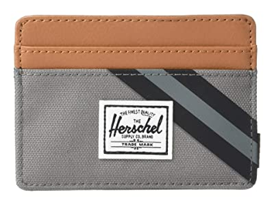 Herschel Supply Co. Charlie RFID (Grey/Synthetic Leather) Wallet Handbags