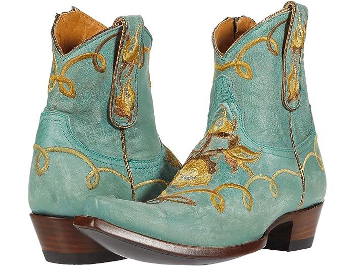Old Gringo Vivian Boots in Aqua Blue