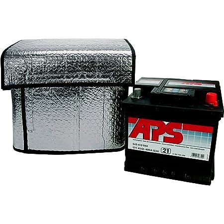 Cartrend 96144 Thermo Batteriehülle Größe Ca 115 X 74 Cm Für 32 45 Ah Geeignet Hält Starterbatterien Bei Tiefsten Temperaturen Funktionsfähig Auto