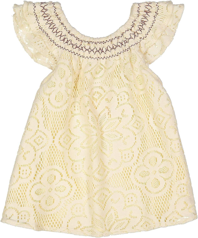 Masala OFFicial Kids Girls' San Francisco Mall Toddler Lace Flutter Dress