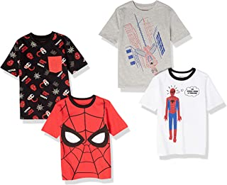 Marchio Amazon - Spotted Zebra - Star Wars 4-pack Short-sleeve T-shirts, novelty-t-shirts Unisex - Bambini
