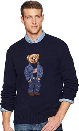 5febc688304c35 Polo Ralph Lauren Big & Tall Big & Tall Vintage Polo Bear Fleece ...