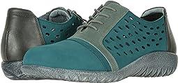 Teal Nubuck/Sea Green Leather Combo