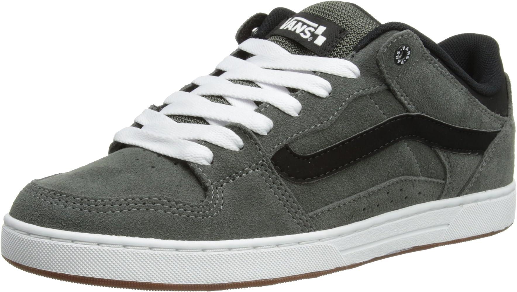 Amazon.com   Vans Baxter S12 Mens Shoes Charcoal Black white (10 ...