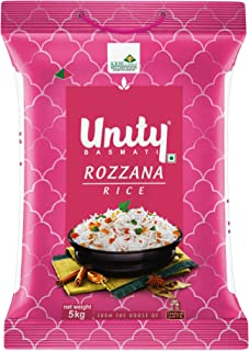 India Gate Unity Basmati Rice Rozzana, 5 Kg