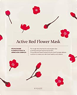 [HYGGEE] Actief Red Flower Mask 10ea