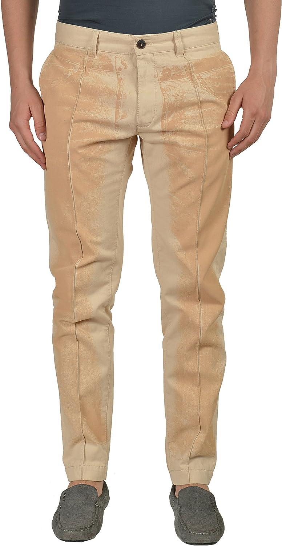Just Cavalli Men's Beige Casual Pants Size US 32 IT 48