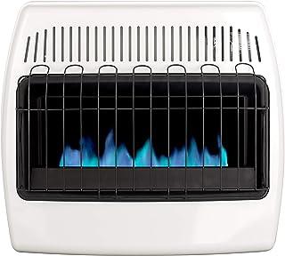 Dyna-Glo 30,000 BTU Liquid Propane Blue Flame Vent Free Wall Heater, White