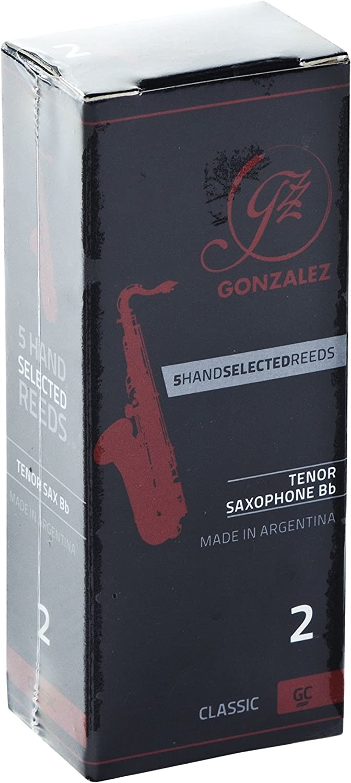 Gonzalez Classic Challenge the lowest price of Japan Tenor Saxophone Reeds Box 3 Luxury 5 Strength of