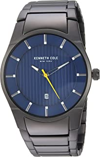 Kenneth Cole New York Men Dial Stainless Steel Band Watch - KC15103013