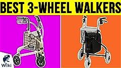 Amazon.com: NOVA Traveler 3 Wheel Rollator Walker, All ...