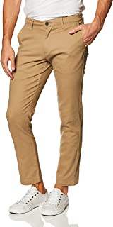 Amazon Essentials Men's Relaxed-fit Casual Stretch Khaki
