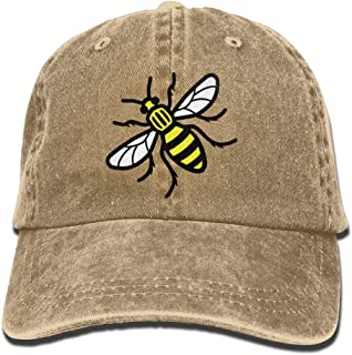 Manchester Bee Unisex Cowboy Hat Design For Man And Woman