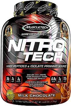 4 Pound MuscleTech NitroTech Protein Powder