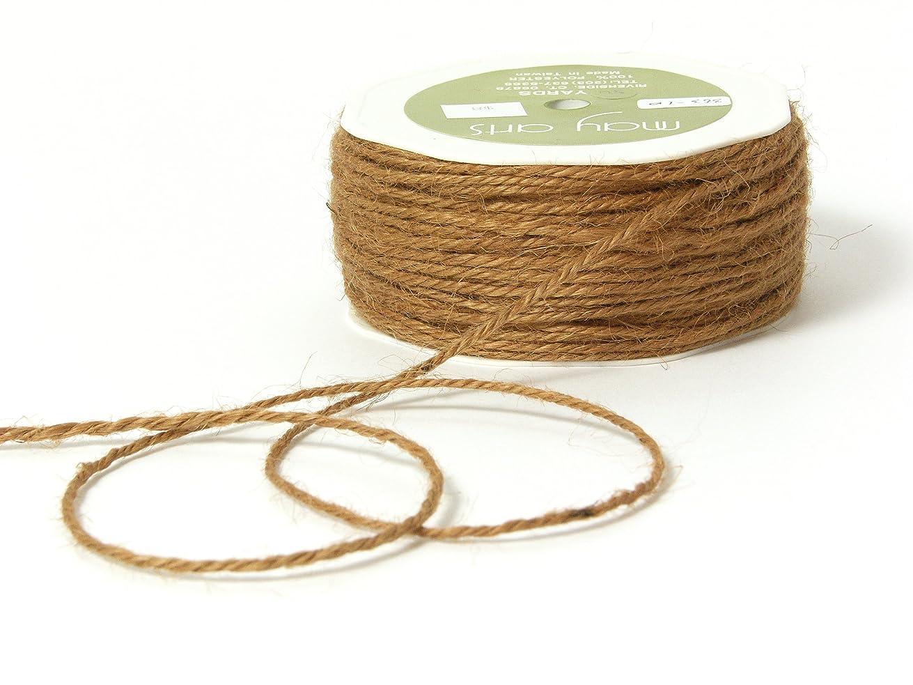 May Arts Ribbon, Natural Burlap String