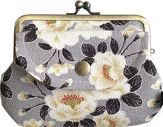 [このはな] がま口 財布 親子がまくち レトロ 綿麻 帆布 京都 日本製