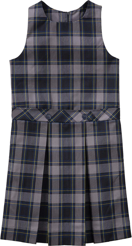 Classroom School Uniform Drop Waist Girls Regular Dress 5P4941, 6X, Navy
