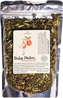Modest Earth Baby Maker Tea | 100% ORGANIC HEALTHY PREGNANCY Nutrition | Conception and Fertility Aid | VITAMIN & MINERAL-...