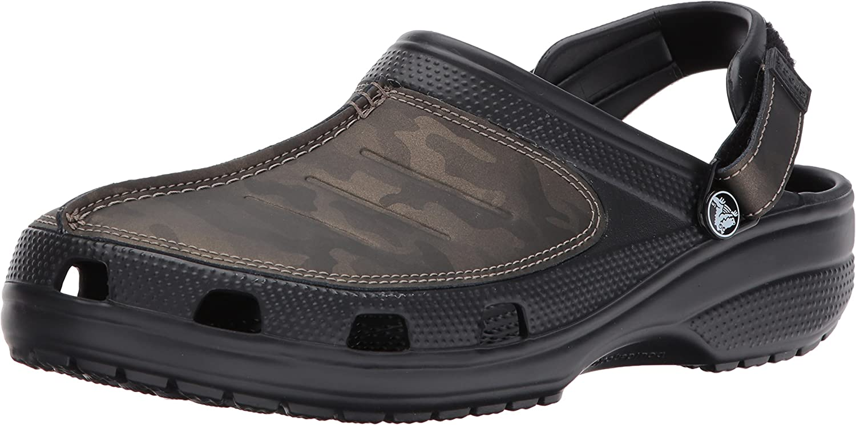 Crocs Mens Yukon Mesa Camo Clog M Mule