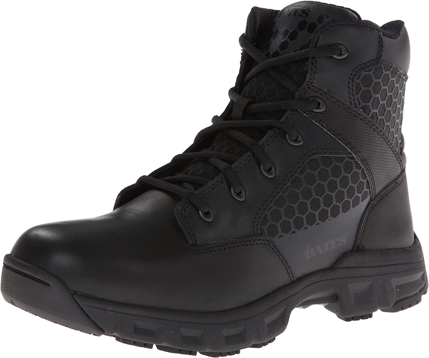 Bates Men's Code 6.6 Inch Side Zip Lightweight Tactical Boot