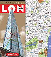 StreetSmart London Map by VanDam - City Center Street Map of London, England - Laminated folding pocket size city travel and Tube map with all museums, attractions, hotels and sights; 2020 Edition