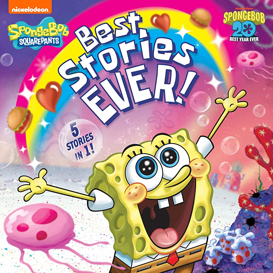 ペースト北米評決Best Stories Ever! (SpongeBob SquarePants) (English Edition)