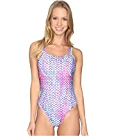 Speedo - Double Cross Back One-Piece