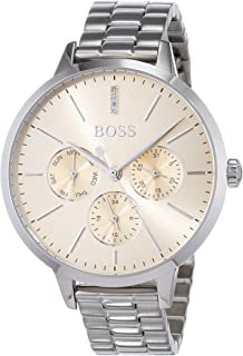 Hugo Boss Women's Gold Dial Stainless Steel Band Watch - 1502421