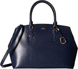 Bennington Double Zip Satchel
