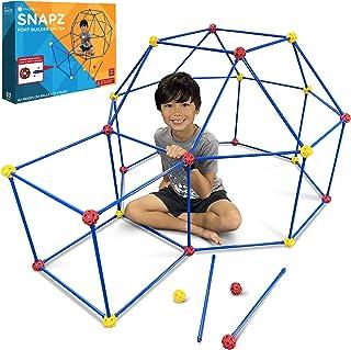 SNAPZ Fort Building Kit for Kids - Build a Fort with The Ultimate Fort Builder Set - Blanket Fort Kit - Indoor Fort Making...