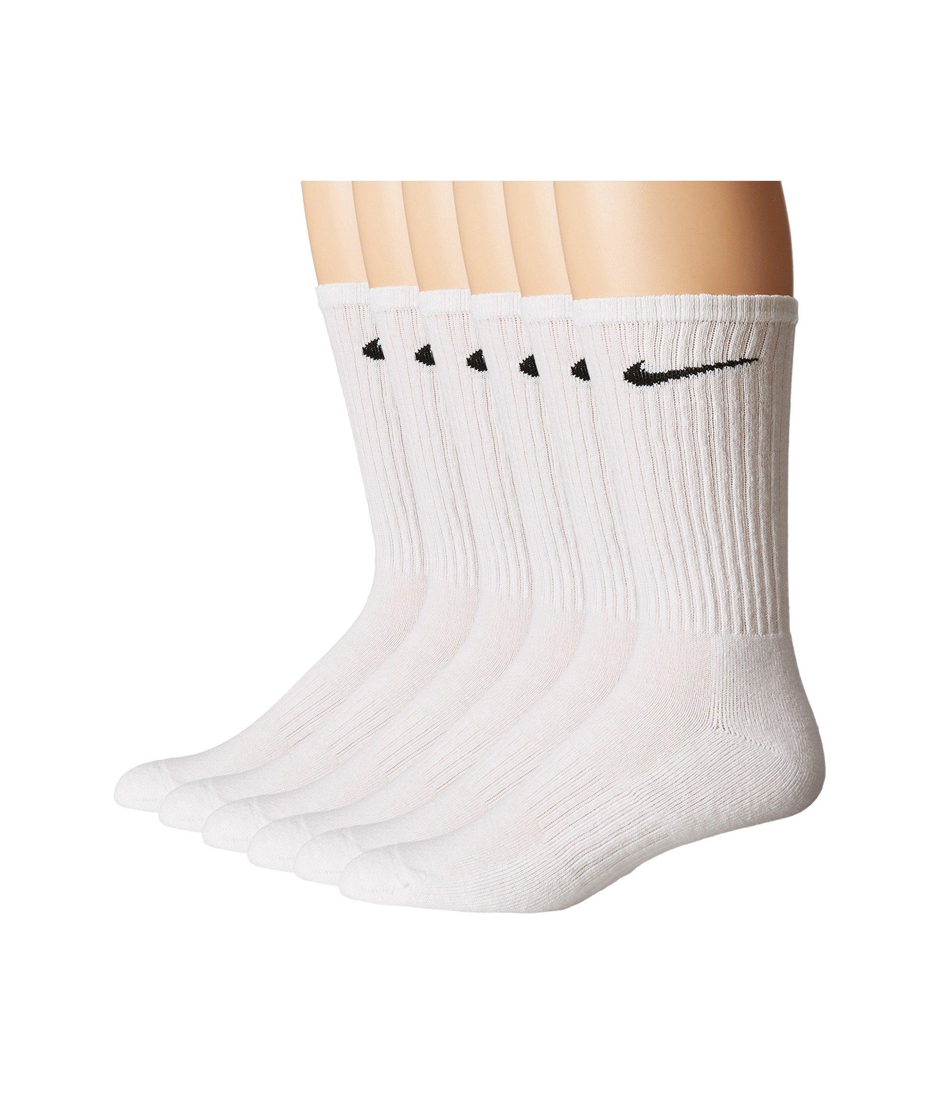 pair Cotton 6 Pack Bag black Crew White Nike wqpxfnIURx