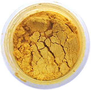 Egyptian Gold Luster Dust, 4 gram container