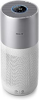 Philips AC3036/10 Purificateur d'Air Connecté, Élimine 99, 97% des particules Fines, Triple filtration 360° Blanc/Argent