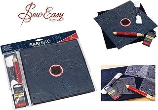 Sew Easy Sashiko Stickerei Komplettset - Alles, was Sie Brauchen, um Loszulegen
