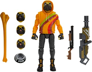 """Fortnite Legendary Series, Doggo, 1 Figure Pack - 6"""" Articulated Action Figure - Includes Harvesting Tools, Weapons, Back Bling, Interchangeable Heads - Collect Them All"""