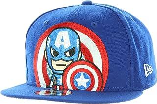 best sneakers 2994c 7bc71 Tokidoki Marvel The Captain New Era 9Fifty Men s Blue Snapback Hat