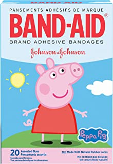 Band-aid Brand Adhesive Bandages, Peppa Pig, Assorted Sizes, 20 Count