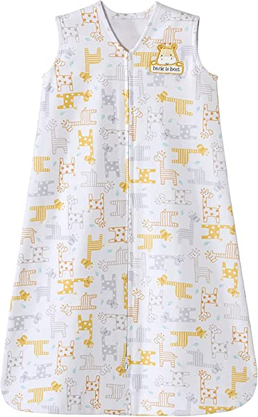 Halo Sleepsack 100 Cotton Wearable Blanket Giraffe Medium