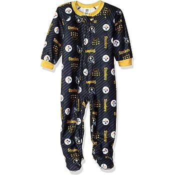 NFL Team Apparel Baltimore Ravens Fleece Toddler Baby Infant Footie Blanket Sleeper